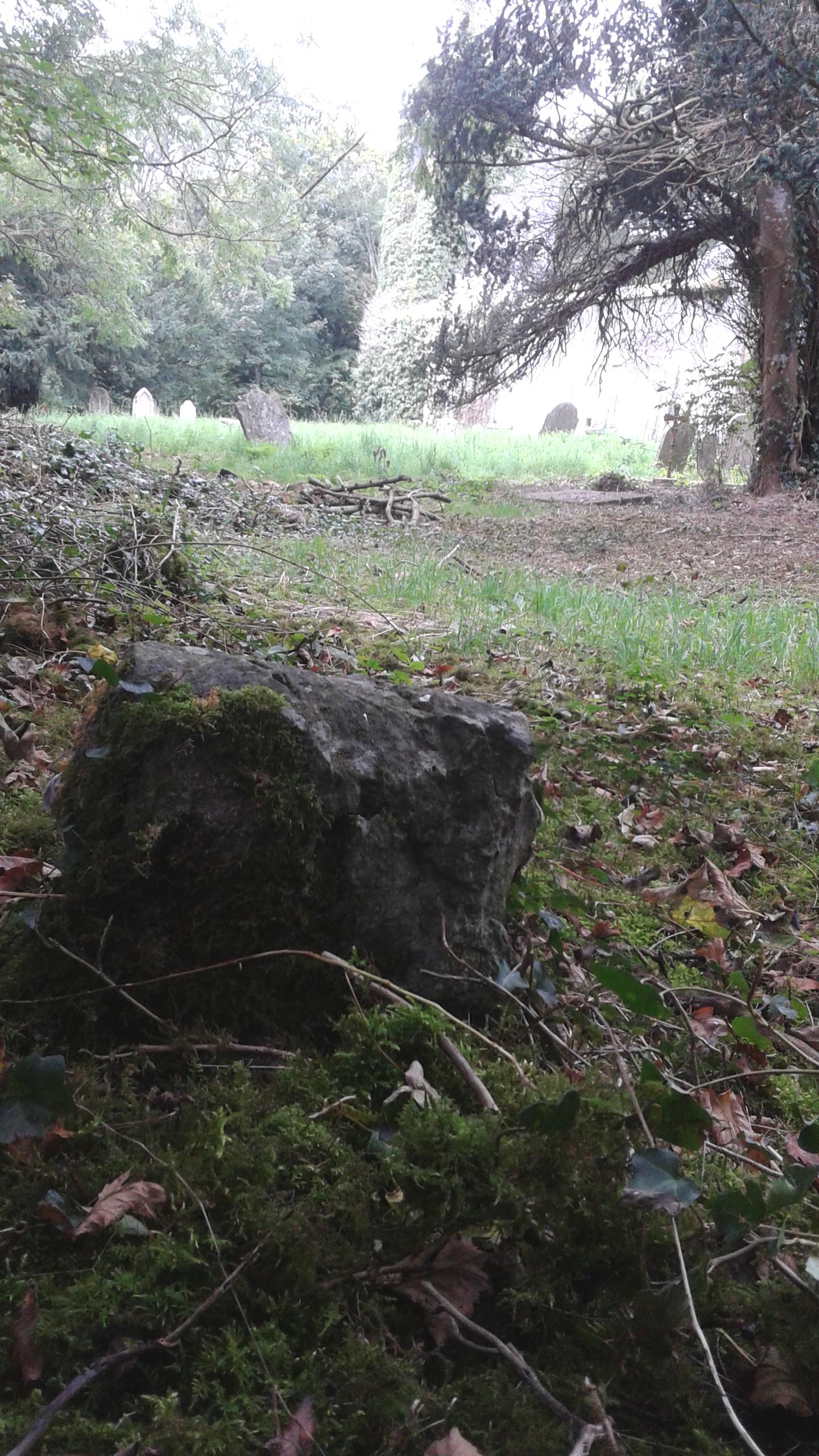Toe Stone in Finnoe Graveyard